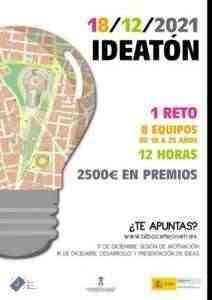 """Participa en """"IDEATÓN 2021"""" del Centro Joven de Albacete para incentivar la creatividad e iniciativa emprendedora juvenil"""